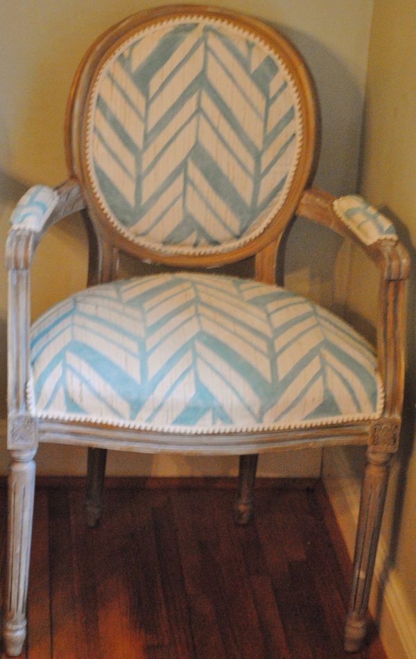 Painted Fabric Chairs 001