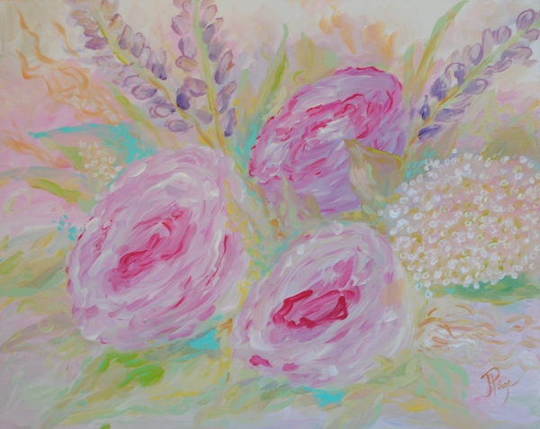 Painting for baby girl 030