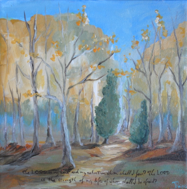 Wooded Psalm 27 002